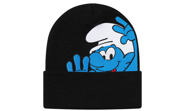 Supreme Smurfs Beanie - zero's zeros world sneakers hypebeast streetwear street wear store stores shop los angeles melrose fairfax hollywood santa monica LA l.a. legit authentic cool kicks undefeated round two flight club solestage supreme where to buy sell trade consign yeezy yezzy yeezys vlone virgil abloh bape assc chrome hearts off white hype sneaker shoes streetwear sneakerhead consignment trade resale best dopest shopping