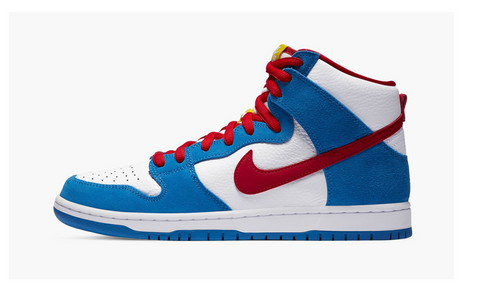 "Nike SB Dunk High ""Doraemon"""