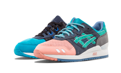 "Ronnie Fieg x ASICS Gel Lyte III ""Homage"" aka ""What The Fieg"" - zero's world sneakers store los angeles melrose round two flight club supreme"
