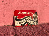 Supreme Name Badge Sticker Artwork by Mj Myers - zero's zeros world sneakers hypebeast streetwear street wear store stores shop los angeles melrose fairfax hollywood santa monica LA l.a. legit authentic cool kicks undefeated round two flight club solestage supreme where to buy sell trade consign yeezy yezzy yeezys vlone virgil abloh bape assc off white hype sneaker shoes streetwear sneakerhead consignment trade resale best dopest shopping