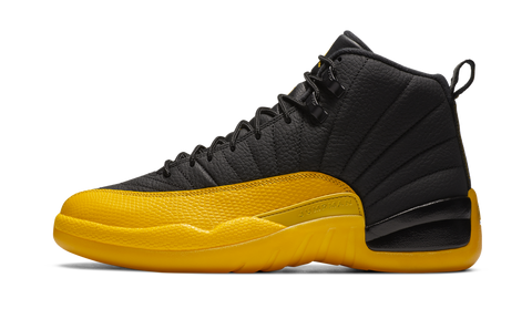 "Air Jordan 12 Retro Black ""University Gold"" GS - zero's zeros world sneakers hypebeast streetwear street wear store stores shop los angeles melrose fairfax hollywood santa monica LA l.a. legit authentic cool kicks undefeated round two flight club solestage supreme where to buy sell trade consign yeezy yezzy yeezys vlone virgil abloh bape assc off white hype sneaker shoes streetwear sneakerhead consignment trade resale best dopest shopping"