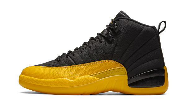 "Air Jordan 12 Retro Black ""University Gold"" - zero's zeros world sneakers hypebeast streetwear street wear store stores shop los angeles melrose fairfax hollywood santa monica LA l.a. legit authentic cool kicks undefeated round two flight club solestage supreme where to buy sell trade consign yeezy yezzy yeezys vlone virgil abloh bape assc off white hype sneaker shoes streetwear sneakerhead consignment trade resale best dopest shopping"