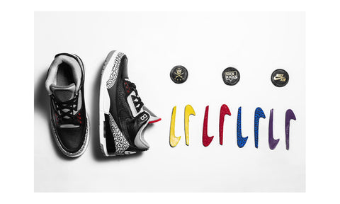 "Air Jordan 3 x The Shoe Surgeon ""All Star - Black Cement"""