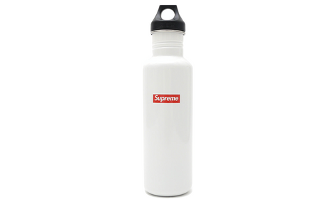 Supreme Klean Kanteen Classic Water Bottle - zero's zeros world sneakers hypebeast streetwear street wear store stores shop los angeles melrose fairfax hollywood santa monica LA l.a. legit authentic cool kicks undefeated round two flight club solestage supreme where to buy sell trade consign yeezy yezzy yeezys vlone virgil abloh bape assc off white hype sneaker shoes streetwear sneakerhead consignment trade resale best dopest shopping