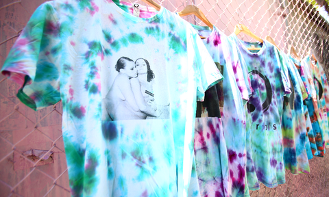 No Future Vintage Tie Dye Tees