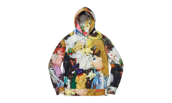 Supreme x Mike Kelley More Love Hours Than Can Ever Be Repaid Hooded Sweatshirt