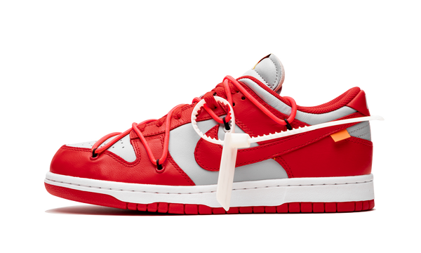 "Nike x Off White Dunk Low ""University Red"""