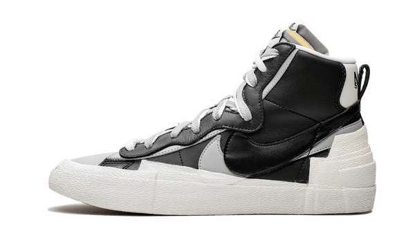 "Nike x Sacai Blazer Mid ""Black Grey"" - zero's zeros world sneakers hype streetwear street wear store stores shop los angeles melrose fairfax hollywood santa monica LA l.a. legit authentic cool kicks undefeated round two flight club solestage supreme where to buy sell trade consign yeezy yezzy yeezys vlone virgil abloh bape assc off white hype sneaker shoes streetwear sneakerhead consignment trade resale best dopest shopping"