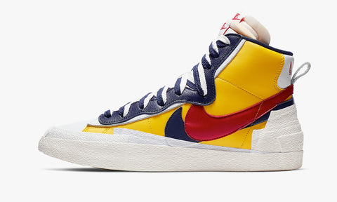 "Nike x Sacai Blazer Mid ""Snow Beach"" - zero's zeros world sneakers hypebeast streetwear street wear store stores shop los angeles melrose fairfax hollywood santa monica LA l.a. legit authentic cool kicks undefeated round two flight club solestage supreme where to buy sell trade consign yeezy yezzy yeezys vlone virgil abloh bape assc off white hype sneaker shoes streetwear sneakerhead consignment trade resale best dopest shopping"