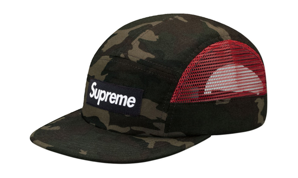 Supreme Side Mesh Box Logo Camp Cap