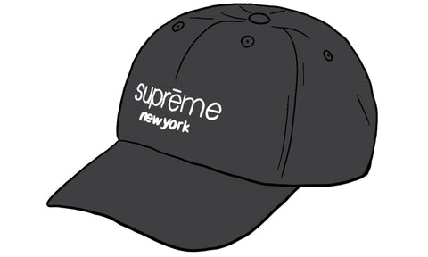 Supreme 2-Tone Canvas 6 Panel