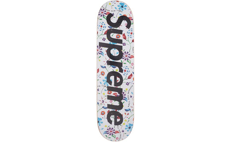 Supreme Airbrushed Floral Skateboard Deck