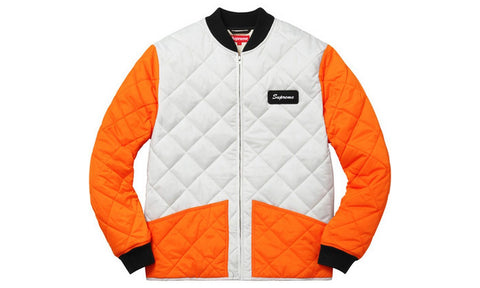 Supreme Color Blocked Quilted Jacket