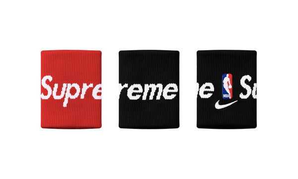 Supreme x Nike x NBA Wristbands - pair