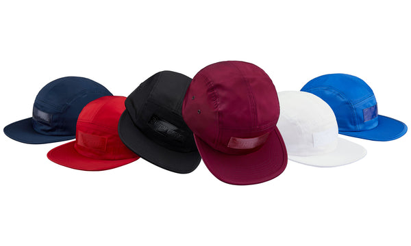 Supreme Patent Leather Patch Camp Cap