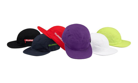 Supreme Side Zip Camp Cap S/S 19