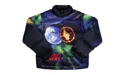 Supreme x Undercover x Public Enemy Puffy Jacket