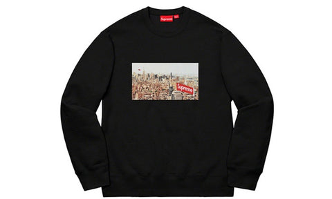Supreme Aerial Crewneck - zero's zeros world sneakers hypebeast streetwear street wear store stores shop los angeles melrose fairfax hollywood santa monica LA l.a. legit authentic cool kicks undefeated round two flight club solestage supreme where to buy sell trade consign yeezy yezzy yeezys vlone virgil abloh bape assc off white hype sneaker shoes streetwear sneakerhead consignment trade resale best dopest shopping