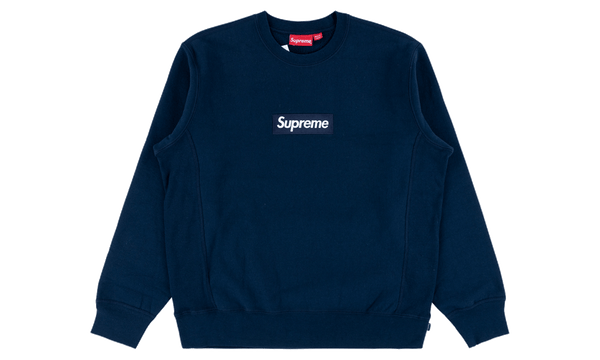 Supreme Box Logo F/W 18 Navy - zero's zeros world sneakers hypebeast streetwear street wear store stores shop los angeles melrose fairfax hollywood santa monica LA l.a. legit authentic cool kicks undefeated round two flight club solestage supreme where to buy sell trade consign yeezy yezzy yeezys vlone virgil abloh bape assc chrome hearts off white hype sneaker shoes streetwear sneakerhead consignment trade resale best dopest shopping