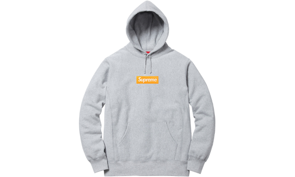 Supreme Box Logo F/W 17 Heather Grey