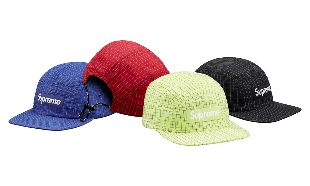 30466033311 Buy Supreme Contrast Ripstop Camp Cap at Zero s for only   69.99 ...