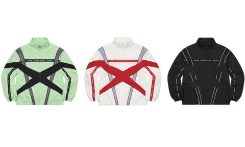 Supreme Cross Paneled Track Jacket - Zero's
