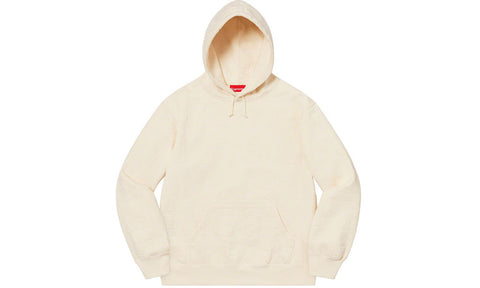 Supreme Embossed Logo Hooded Sweatshirt