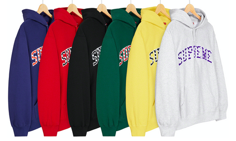 Supreme Hearts Arc Hooded Sweatshirt