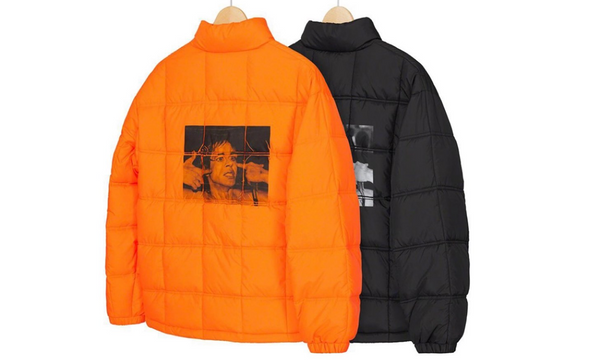 Supreme Iggy Pop Puffy Jacket - Zero's