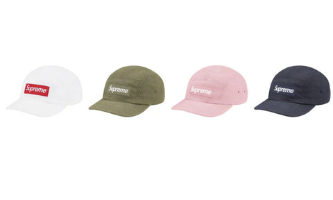 Supreme Linen Camp Cap