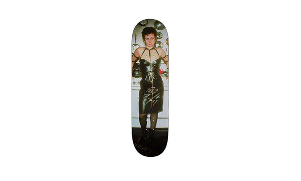 Supreme Nan Goldin As A Dominatrix Skateboard Deck - zero's zeros world sneakers hype streetwear street wear store stores shop los angeles melrose fairfax hollywood santa monica LA l.a. legit authentic cool kicks undefeated round two flight club solestage supreme where to buy sell trade consign yeezy yezzy yeezys vlone virgil abloh bape assc off white hype sneaker shoes streetwear sneakerhead consignment trade resale best dopest shopping