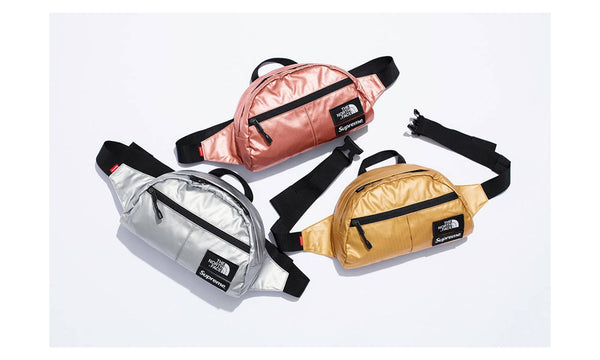 Supreme x  The North Face Metallic Waist Bag
