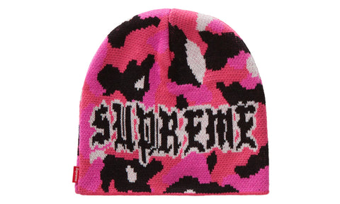 Supreme Paris Camo Beanie - zero's zeros world sneakers hypebeast streetwear street wear store stores shop los angeles melrose fairfax hollywood santa monica LA l.a. legit authentic cool kicks undefeated round two flight club solestage supreme where to buy sell trade consign yeezy yezzy yeezys vlone virgil abloh bape assc off white hype sneaker shoes streetwear sneakerhead consignment trade resale best dopest shopping
