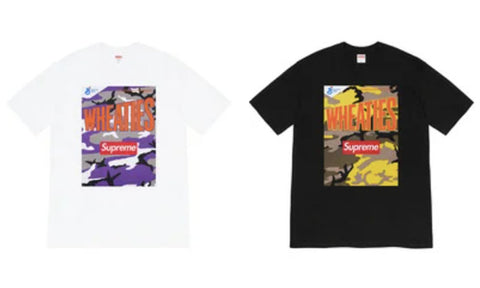 Supreme x Wheaties Tee - Zero's