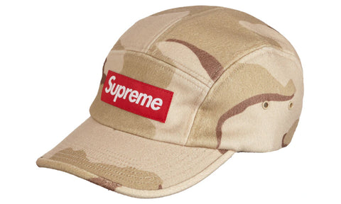 Supreme Wool Camp Cap