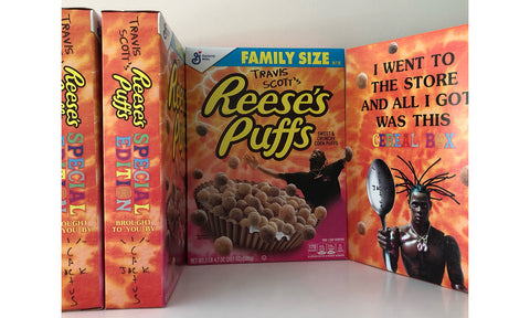 Travis Scott x Reese's Puffs Breakfast Cereal