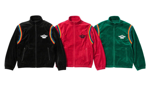 Supreme x Hysteric Glamour Velour Track Jacket - Zero's