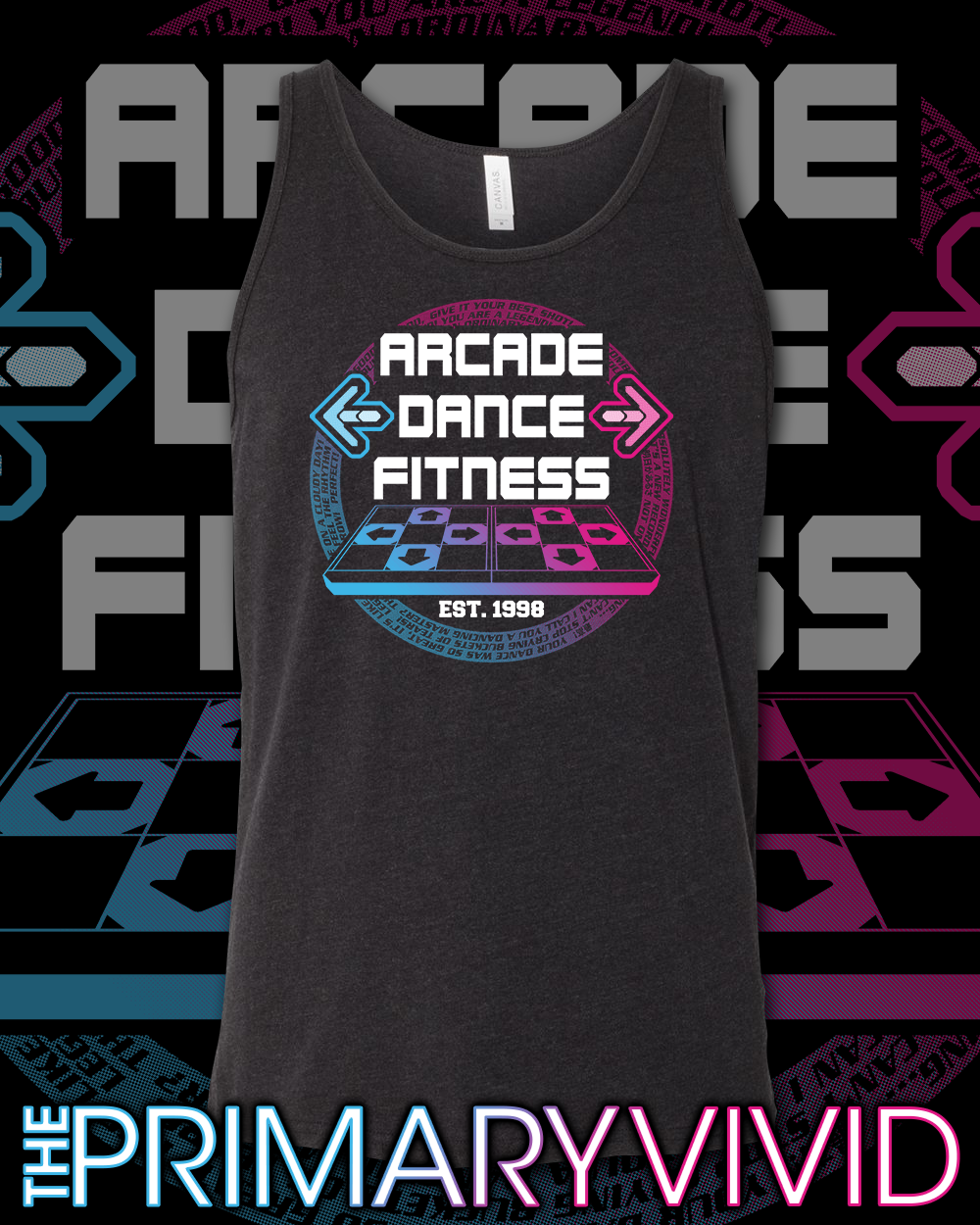 Arcade Dance Fitness Tank Top