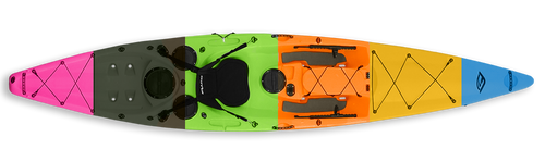 Fluid Bamba Fishing Kayak - Wild Coast Kayaks