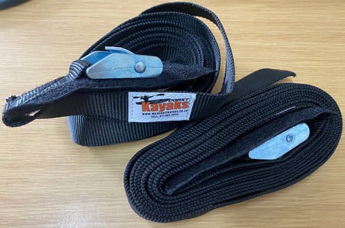 WCK HD Tie Downs 3m - Wild Coast Kayaks