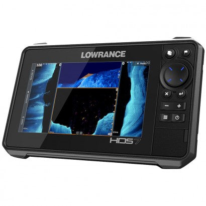 Lowrance HDS 7 LIVE (3-IN-1 ACTIVE IMAGING) - Wild Coast Kayaks