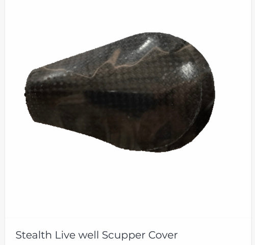Stealth Live Well Scupper Covers - Wild Coast Kayaks