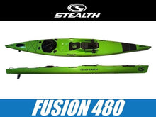 Load image into Gallery viewer, Stealth Fusion 480 Kayak - Wild Coast Kayaks