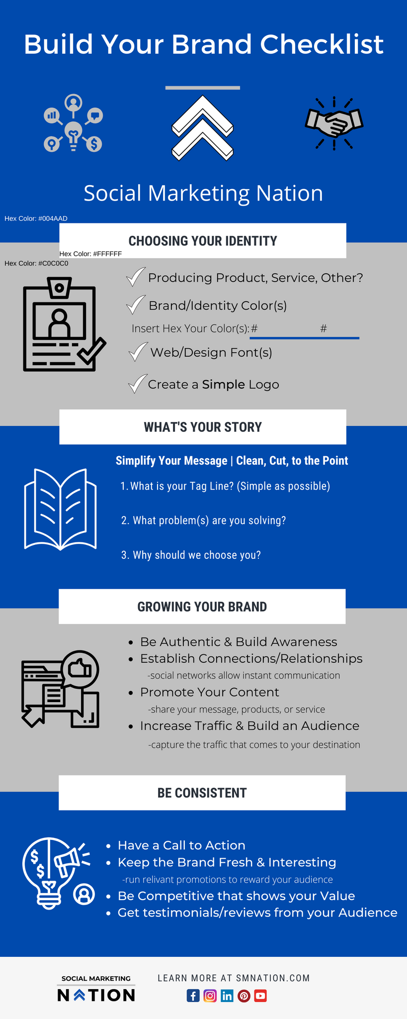 Build your brand checklist from social marketing nation