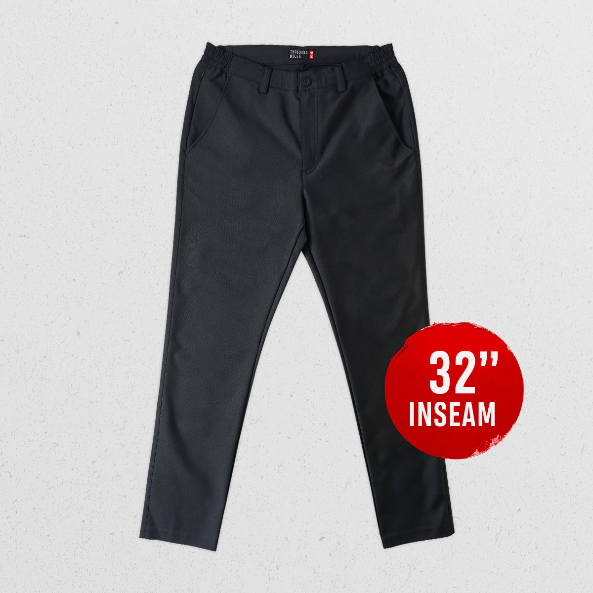 "32"" All Day Chino Pants - Alpha Black"