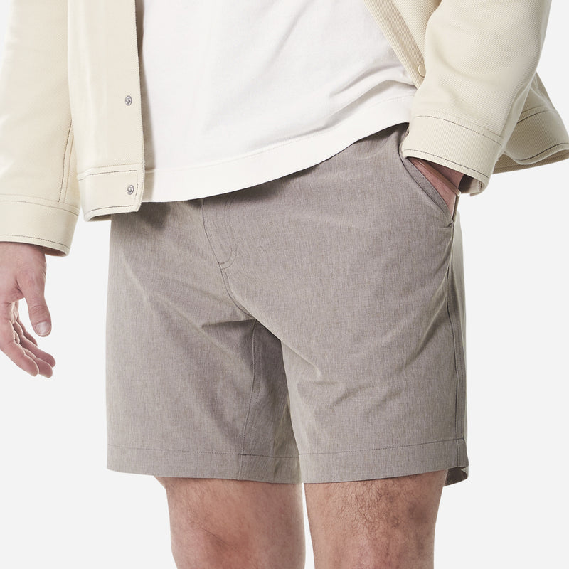 All Day Shorts (Omniflex™) - Cool Gray