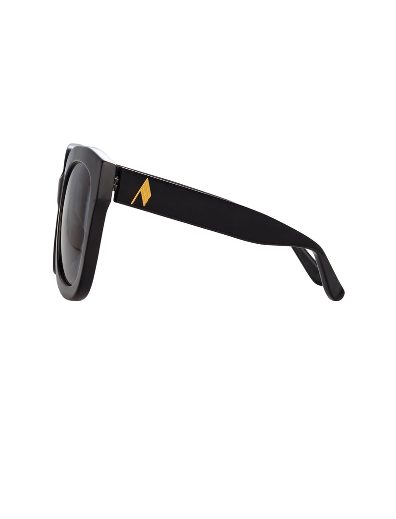 The Attico Oversized Sunglasses in Black