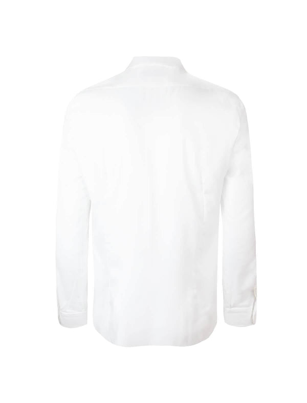Journey Wrinkle-Resistant Textured Shirt in White - CLOSET Singapore