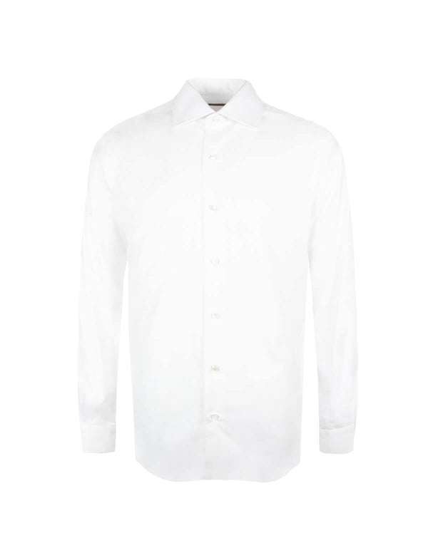 Journey Wrinkle-Resistant Shirt in White - CLOSET Singapore