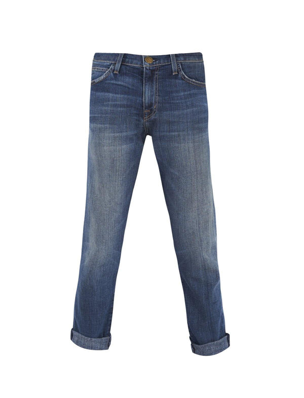 Midrise Straight Denim Jeans in Loved